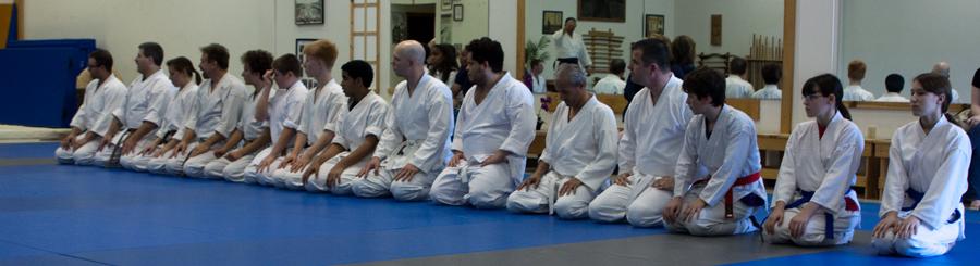 Aikido Class at Ke Rei Shinkan